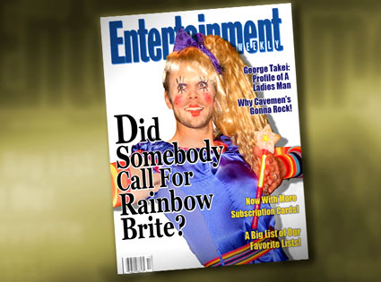 Rainbow Brite Joel McHale, Entertainment Weekly