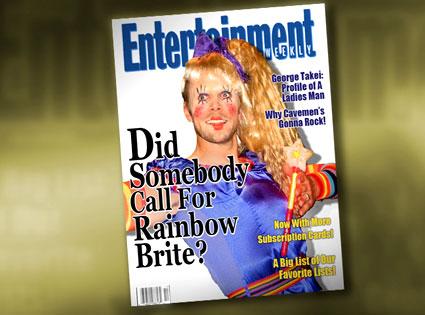 Rainbow Brite Joel McHale, Entertainment Weekly