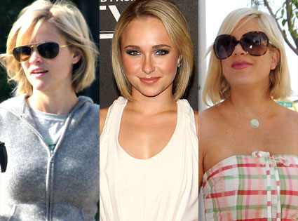Reese Witherspoon, Hayden Panettiere, Tori Spelling