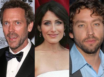 Hugh Laurie, Lisa Edelstein, Michael Weston