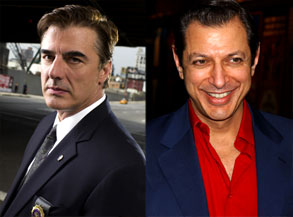 Chris Noth, Jeff Goldblum
