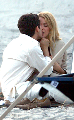 Penn Badgley, Blake Lively