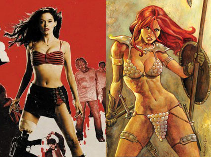 Red Sonja, Rose McGowen.