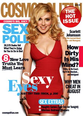Scarlett Johansson, Cosmopolitan Magazine