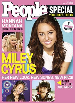 Miley Cyrus, People Magazine