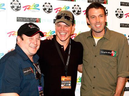 Jason Alexander, Matt Damon, Ben Affleck