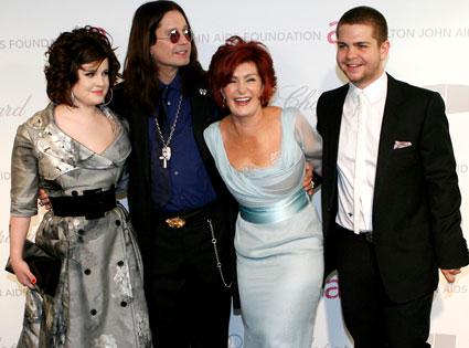 Ozzy Osbourne, Sharon Osbourne, Jack Osbourne, Kelly Osbourne