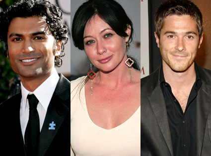 Sendhil Ramamurthy (Heroes), Shannen Doherty (90210), Dave Annable (Brothers & Sisters)