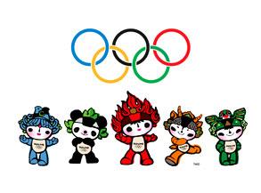 2008 Olympics Mascots