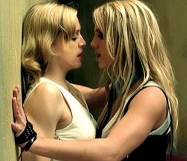 Madonna, Britney Spears, Me Against the Music (music video)