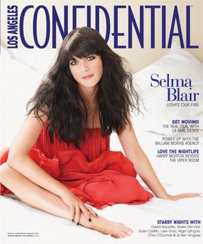 Selma Blair, LA Confidential Cover