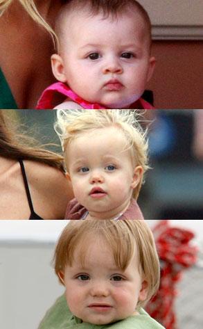Harlow Madden, Shiloh Jolie-Pitt, Jayden James Federline