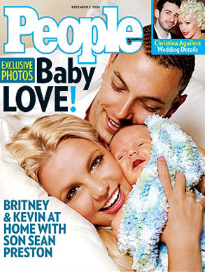 Britney Spears, Kevin Federline People Cover