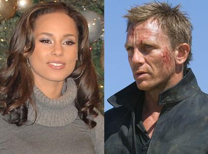 Alicia Keys, Daniel Craig