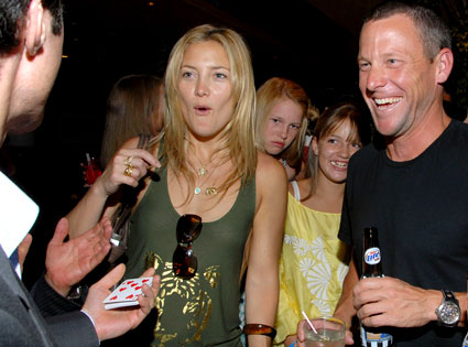 Kate Hudson, Lance Armstrong, Matthew Furman