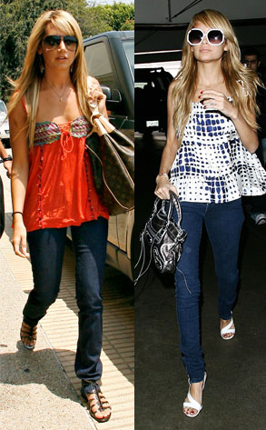 Ashley Tisdale, Nicole Richie