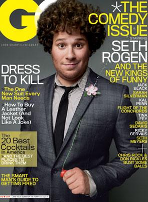 Seth Rogen, GQ Magazine