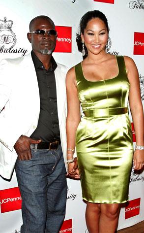 Kimora Lee Simmons, Djimon Hounsou