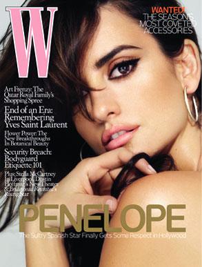 Penelope Cruz, W Magazine