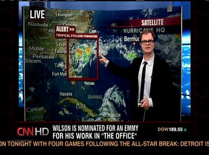 Rainn Wilson, CNN
