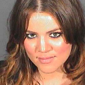 Khloe Kardashian, Mugshot
