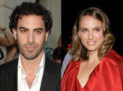 Sacha Baron Cohen, Natalie Portman