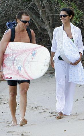 Matthew McConaughey, Camila Alves, Levi McConaughey