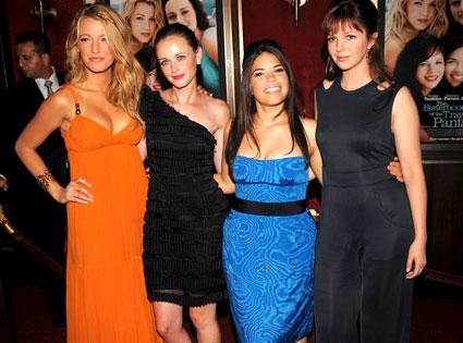 Blake Lively, Alexis Bledel, America Ferrera, Amber Tamblyn