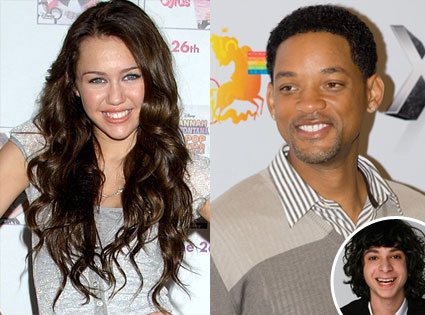 Miley Cyrus, Will Smith, Adam Sevani