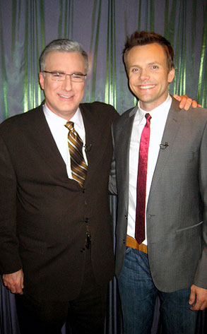 Keith Olbermann, Joel McHale
