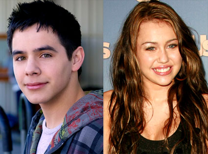 David Archuleta, Miley Cyrus