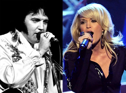 Elvis Presley, Carrie Underwood
