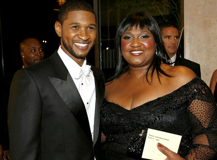 Usher dating manager