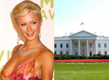 Paris Hilton, The White House