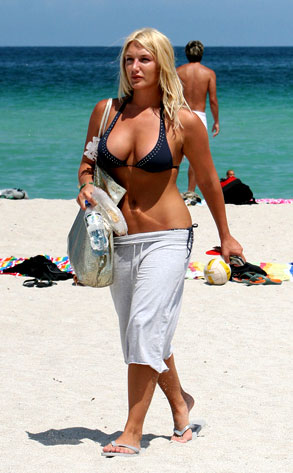 Nearly Naked Celeb Of The Day Brooke Hogan E News