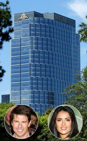 MGM Tower, Tom Cruise, Salma Hayek