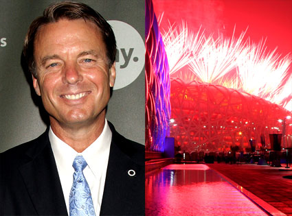 John Edwards, 2008 Summer Olympics Opening Ceremonies