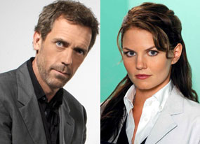 Hugh Laurie, Jennifer Morrison, House