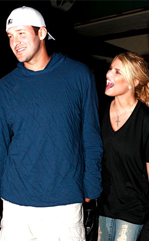 Jessica Simpson, Tony Romo