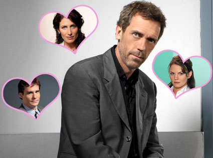 Hugh Laurie, Lisa Edelstein, Robert Sean Leonard, Jennifer Morrison, House