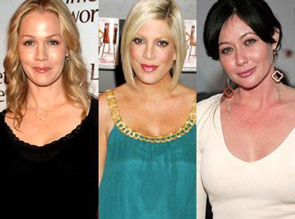 Jennie Garth, Tori Spelling, Shannen Doherty