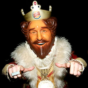 The King, Burger King