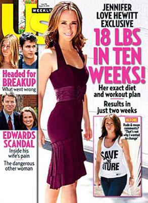 Jennifer Love Hewitt, US Weekly