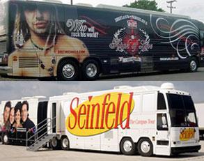 Seinfeld bus, Bret Michaels' bus