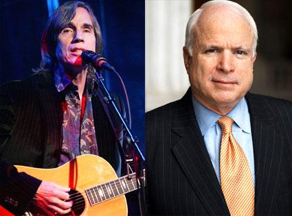 Jackson Browne, John McCain