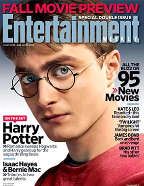 Daniel Radcliffe, Entertainment Weekly
