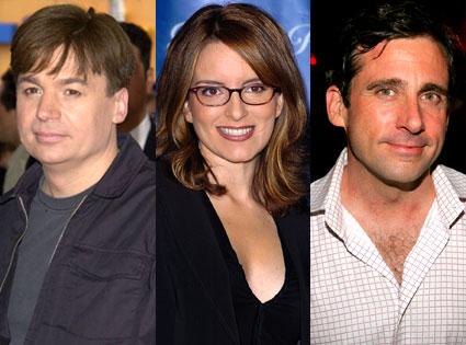 Mike Myers, Tina Fey, Steve Carell