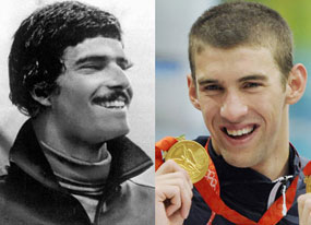 Mark Spitz, Michael Phelps