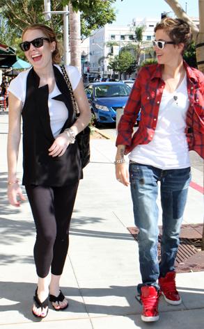 Lindsay Lohan, Samantha Ronson