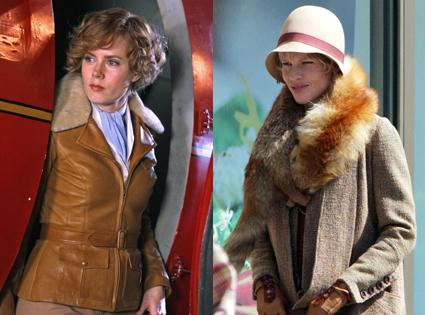 Amy Adams, Hilary Swank as Amelia Earhart
